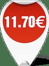 ΤΙΜΗ ΨΑΛΙΔΙ ΚΟΥΖΙΝΑΣ 8 inces 11.70 ευρώ