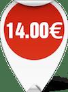 Τιμή Ψαλίδι Ράφτη 8 inches 14.00 ευρώ