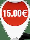 Τιμή Ψαλίδι Ραπτικής ΕΒΑ 1012 15.00 ευρώ