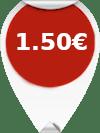 Τιμή Μεζούρα Ραπτικής 1.50 ευρώ