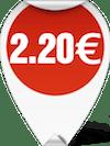 Τιμή Κοφτάκι κλωστής 2 2.20 ευρώ
