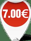 Τιμή Ψαλίδι για το ψάρι 7.00 ευρώ