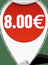 ΨΑΛΙΔΙ ΚΟΥΖΙΝΑΣ COME APART 8 inches 8.00 ευρώ